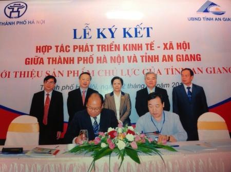 Đặc sản An Giang vào thị trường Hà Nội
